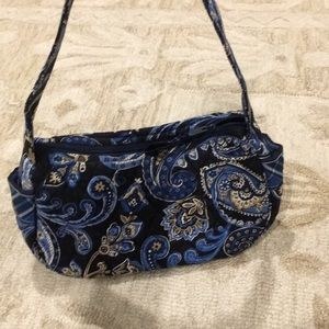 Vera Bradley Paisley & Plaid Small Shoulder Bag